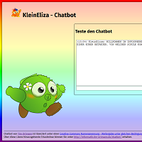 Screenshot unseres Chatbots